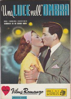 Film-Romanzo UNA LUCE NELL'OMBRA con J. Garfield, G. Fitzgerald  1955   -L5316