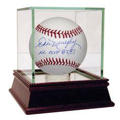 """Steiner Dale Murphy Signed MLB Baseball w/ """"NL MVP 82 83"""" Insc"""