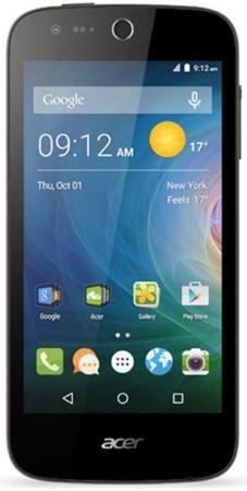 Acer Liquid Z330 (черный)  — 4990 руб. —  Смартфон Acer Liquid Z330 – компактная модель, позволяющая управлять всеми функциями одной рукой за счет применения 4,5-дюймового сенсорного экрана. Несмотря на малые размеры, ��н наверняка понравится любителям высококачественного мультимедиа благодаря использованию IPS-матрицы с расширенной цветопередачей и аудиосистемы с мощным динамиком, не допускающим искажения звука даже при выборе максимального уровня громкости. Оптимальная производительность…