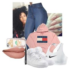 """""""Untitled #103"""" by west-coast-baby98 ❤ liked on Polyvore featuring NIKE, Casetify and NARS Cosmetics"""