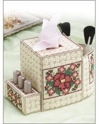 Cosmetics Caddy. Could be a remote control holder.