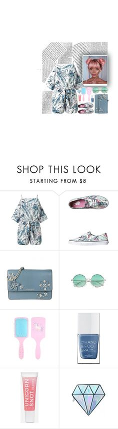 """""""TGIF"""" by purplepompom ❤ liked on Polyvore featuring Miss Selfridge, Vans, MICHAEL Michael Kors, The Hand & Foot Spa and Unicorn Lashes"""