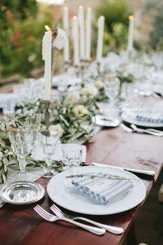 Photography : Matteo Crescentini  | Wedding Venue : Fattoria La Loggia | Wedding Planning : Rossana Sapori At The Knot In Italy Read More on SMP: http://www.stylemepretty.com/little-black-book-blog/2014/12/11/rustic-tuscan-fall-wedding/
