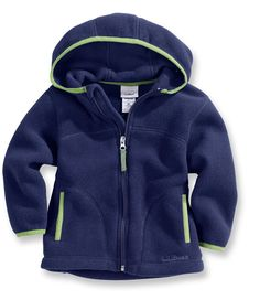 Bright Navy Infants' and Toddlers' Trail Model Fleece Hooded Jacket