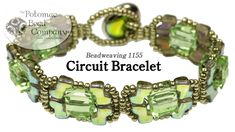 Circuit Bracelet - FREE Tutorial by Potomac Bead Company