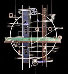Jeffrey Zachmann Kinetic Sculpture #707
