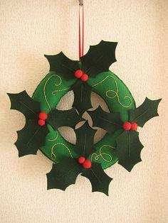 Christmas felt decoration #imadethis #creativebug