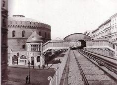 Berlin: U-Bahnhof Prinzenstraße, 1902