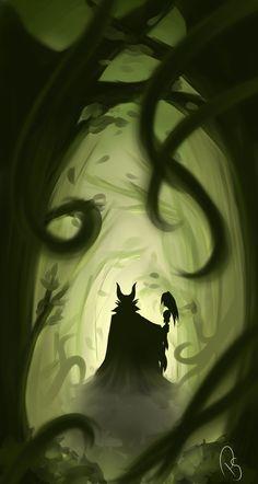 Maleficent by Pangol on deviantART