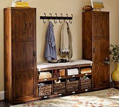 entryway systems furniture. entryway systems and modular components pottery barn furniture