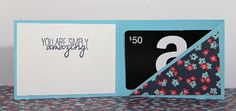 Simplest Gift Card Holder Ever! by Nicole  (052913)  [gift card]