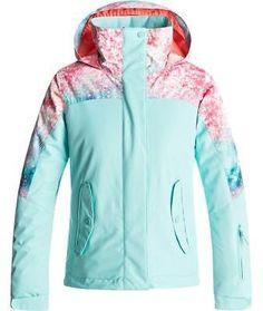 Roxy Jetty Block Hooded Jacket - Girls'