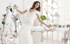 TIGA | Bohemian Wedding Dress | 2015 Cala Collection | by Sara Villaverde | Villais