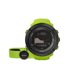 Suunto Ambit3 Vertical HR Monitor Running GPS Unit, Lime *** Click on the image for additional details.
