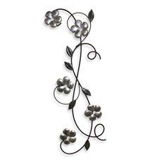 Quinton Floral Metal Art