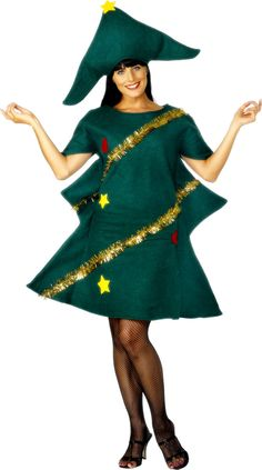 Christmas Tree Costume (28265) £9.95 #fancydress #Christmas