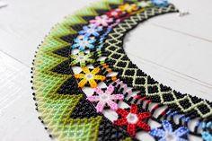 Aztec Necklaces, Aztec Earrings, Tribal Necklace, Seed Bead Necklace, Seed Bead Bracelets, Seed Beads, Beaded Choker, Beaded Earrings, Beaded Jewelry