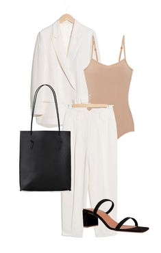 The Perfect Look (Jestem Kasia) Basic Outfits, Stylish Outfits, Fall Fashion Outfits, Spring Outfits, Polyvore Outfits, Outing Outfit, Pantalon Large, Look Girl, Look Chic