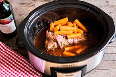 Slow Cooker Red Wine Brisket