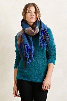Mohair & merino wool Pullover #anthropologie