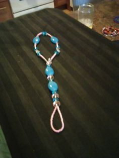 Baby Blue and Baby Pink slave braclet by SheilasJewels on Etsy
