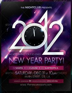 new year poster template 160 Free and Premium PSD Flyer Design Templates - Print Ready . New Years Party, New Years Eve, Glamour Party, Free Psd Flyer Templates, New Years Poster, Party Poster, Party Flyer, Night Club, Sample Resume