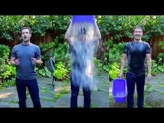 Mark Zuckerberg ALS Ice Bucket Challenge.