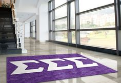 Buy a licensed Tri Sigma Greek Sorority Logo Rug . Show your Tri Sigma Pride. Rug Rats is a trusted name in custom rugs. Free Samples. Free Shipping.