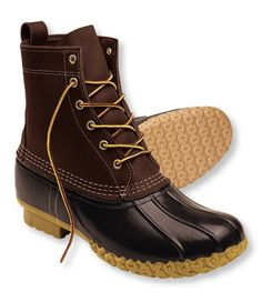 L.L. Bean boots.  Handmade in Maine.  Yes please. $99. Own