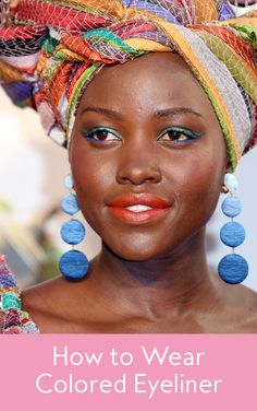 Colorful eyeliner can be easy to pull off. Makeup pro Nick Barose tells us how.