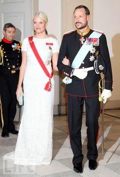 Crown Princess Mette-Marit of Norway and Crown Prince Haakon of Norway