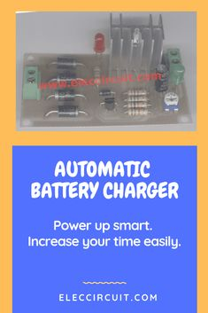 This is Simple automatic battery charger circuit, using the small SCR and relay is cheap and can use all battery size by input source. Lead Acid Battery Charger, Battery Charger Circuit, Automatic Battery Charger, Electronics Basics, Electronics Projects, Electronic Schematics, Circuit Design, Circuit Projects, Battery Sizes