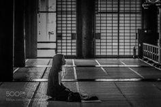 Buddhist prayer by KenjiHiramatsu
