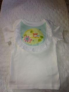 Adorable Owl Embellished Baby TShirt with by OhhSewSweetByJess, $10.00