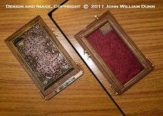 """Steampunk Case for the Apple iPhone (R)  4 / 4s: The """"iCog Dione"""" (TM)  """"Diana"""" Edition. $75.00, via Etsy."""