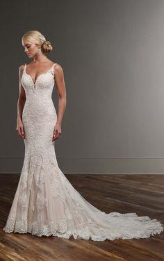 744 Designer Wedding Gown by Martina Liana