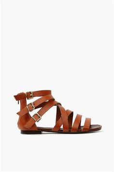 Cory Gladiator Sandal - Tan