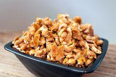 Honningristede peanøtter med havsalt | Millas Mat