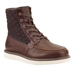 88f98ede22d0 These Timberland Newmarket men s leather boots add some fresh style to your  look.