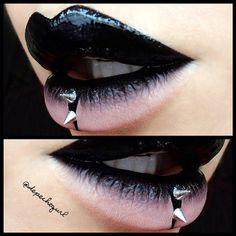 "Black Chyna"" Liquid Lipstick from @feyoshecosmetics #latex - @Christina Childress Childress Childress Parga- #webstagram"