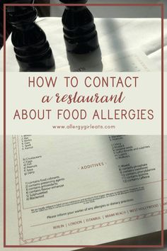 How do you decide if a restaurant is a good fit for you and your food allergies? What are the steps and tools I used and found the the most helpful in ensuring a safe and stress-free dining experiences? #allergyfriendly #allergygirleats #allergytips #foodallergyresources Food Allergies, Stress Free, Community, Restaurant, Healthy Recipes, Tools, Dining, Eat, Fitness