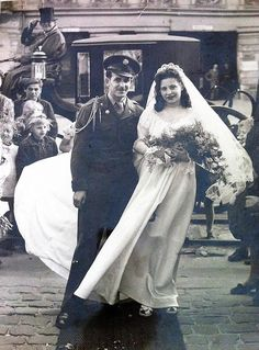 1940's newlyweds Berlin, Germany