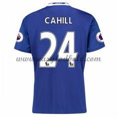 Fodboldtrøjer Premier League Chelsea 2016-17 Cahill 24 Hjemmetrøje