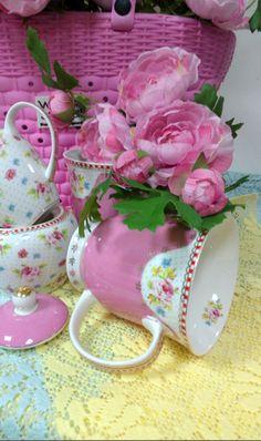Pink mug...