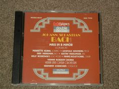 BACH: Mass in B Minor: Conclusion Disc 2 (CD, Music, Classical, Orchestra)      #Mass