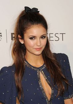 Look, Nina Dobrev Just Brought Back Your Favorite Fifth-Grade Hairstyle!