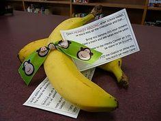 teacher appreciate - LOVE IT - banana split party