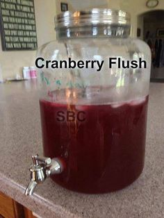 Fat Flush Cran-Water recipe - Changing Lives One Pound At A Time