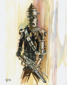 Awesome STAR WARS Bounty Hunter Art from Brian Rood - News - GeekTyrant