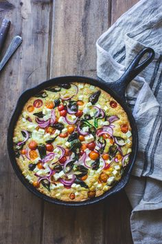 The Bojon Gourmet: A Farmer's Market Cornbread with Sweet Corn, Cherry Tomatoes and Sheep's Cheese {Gluten-Free}